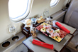 Catering private flights