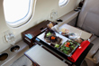 Catering executive flights