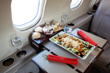 Catering private jet