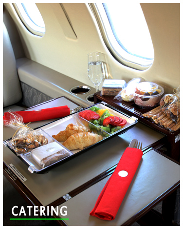 Catering for executive aviation